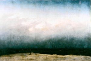 """Monk by the Sea,"" by Caspar David Friedrich"
